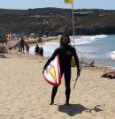 Entrenamiento en olas pequeñas